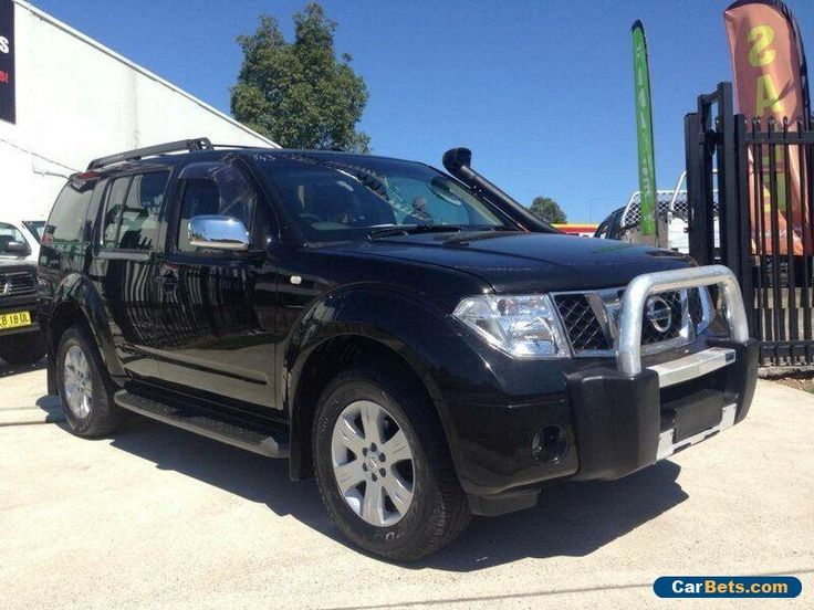 2006 Nissan Pathfinder R51 TI (4x4) Black Automatic 5sp A Wagon #nissan #pathfinder #forsale #australia