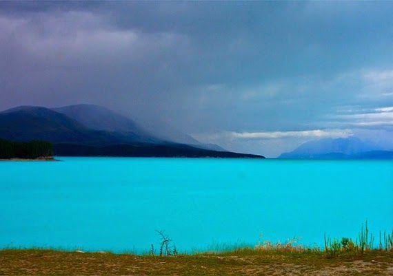 36.3 THE LORD OF THE RINGS - #lake #pukaki #new #zealand #newzealand #lordoftherings
