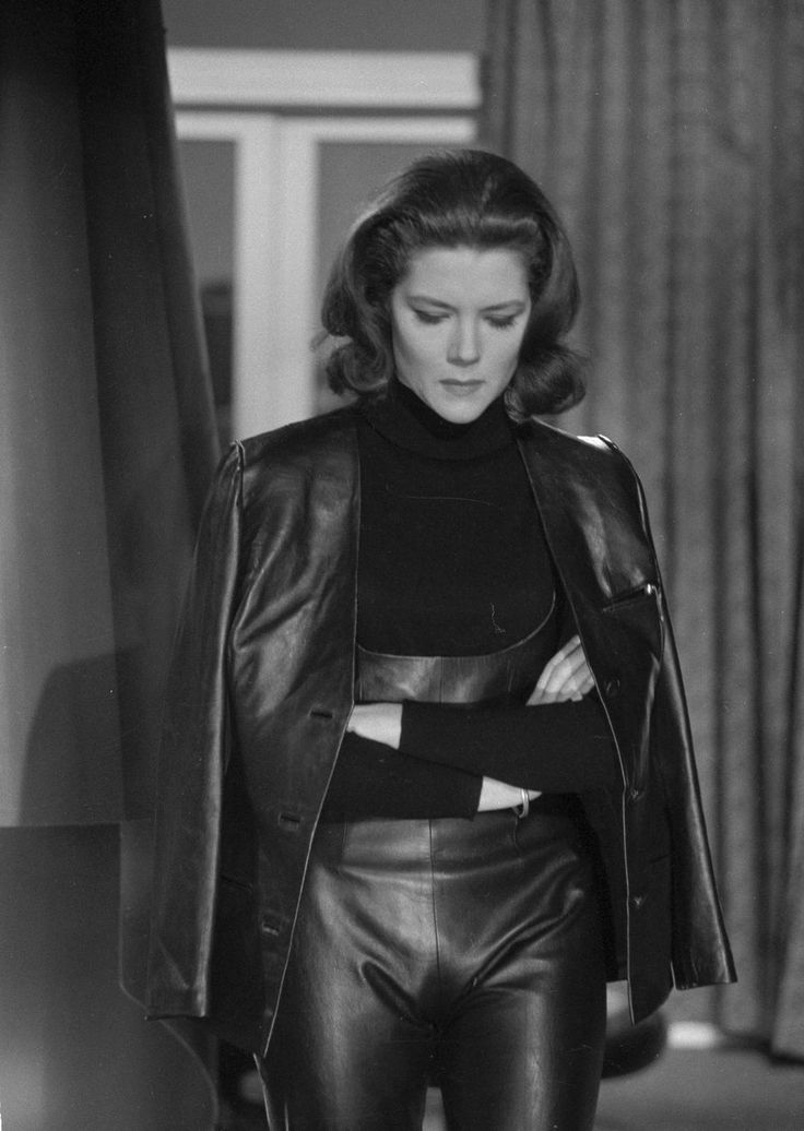 Emma Peel (Diana Rigg). Did anyone do more to bring fetish to the fashion mainstream?