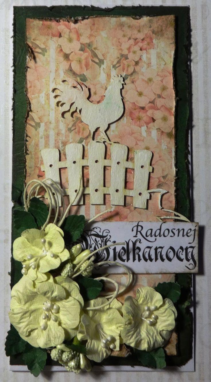 Papierkowa strona Dobrosławy: Kukuryku