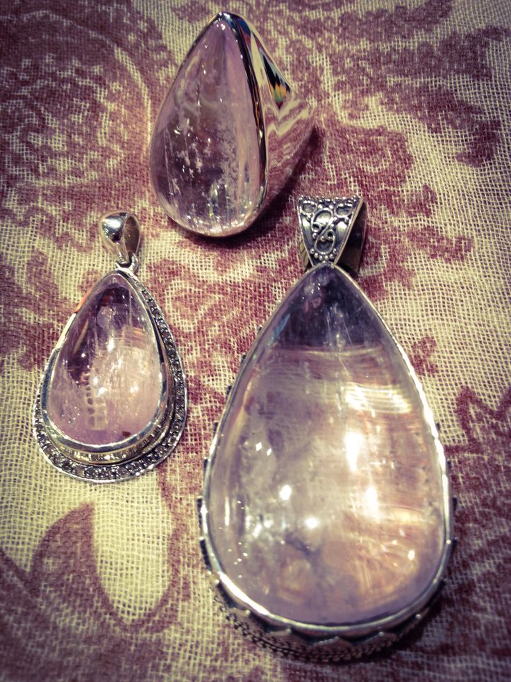Kunzite. Radiates peace and connects you to universal love. Extremely spiritual, awakens unconditional love.