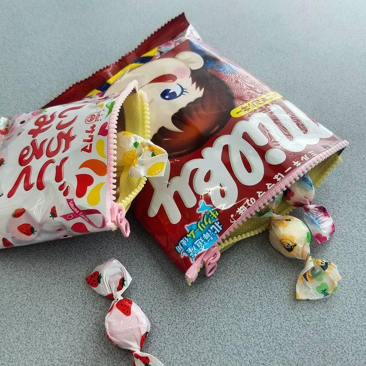 お菓子の袋リメイク!かわいいお菓子文房具の作り方