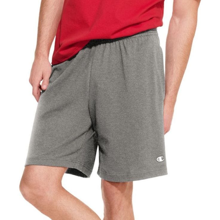 Champion Men's Rugby Shorts, Size: Small, Gray