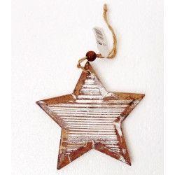 Dekorace - Hvězda dřevěná