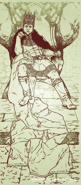 Béatrice Tillier: Le Roi boude...