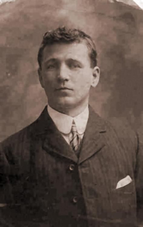 Harry Holman was 28 years old when he lost his life in the sinking. His body wasn't recovered.