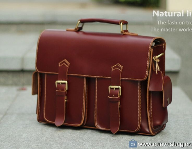 Leather Messenger Bag