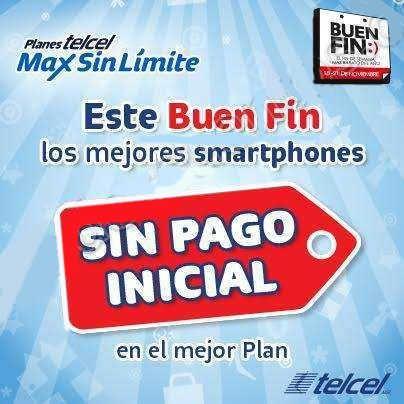 El Buen Fin 2016 en Planes Telcel Celulares sin pago inicial y 3 meses gratis