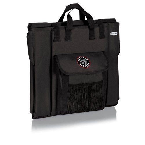 Toronto Raptors Portable Stadium Seat w/Digital Print - Black