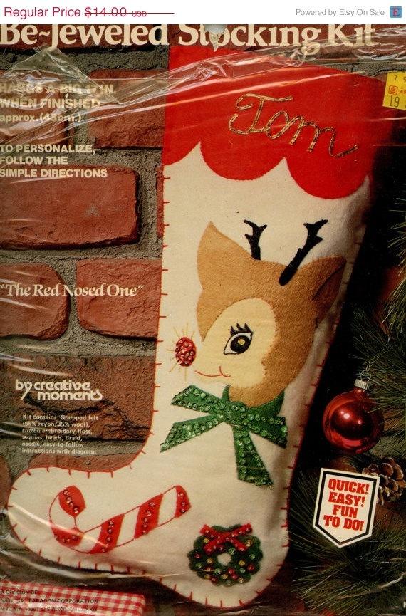Sequin Christmas Stocking Kits