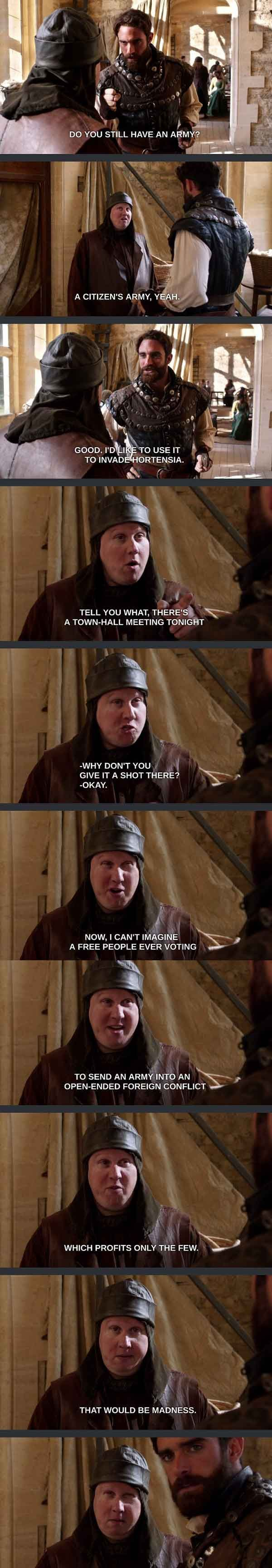 Favorite scene from Galavant
