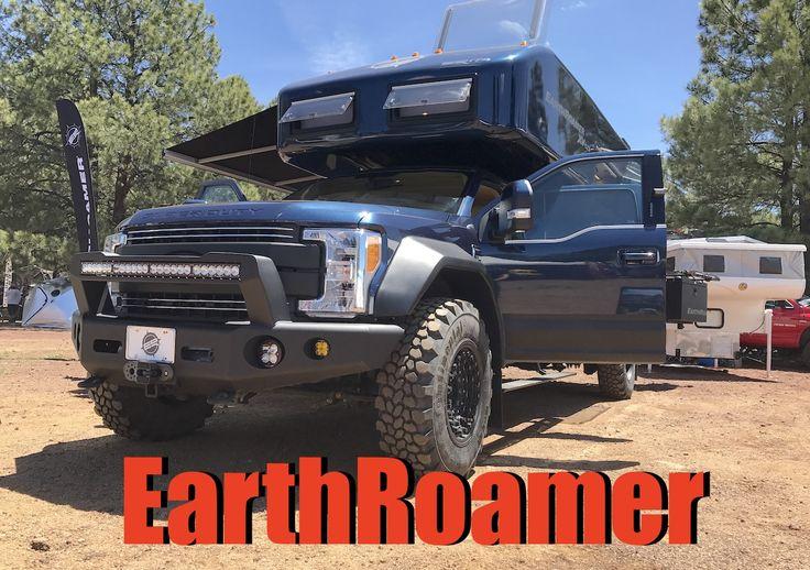 2017 ford f550 diesel adventure truck earthroamer xv-lts