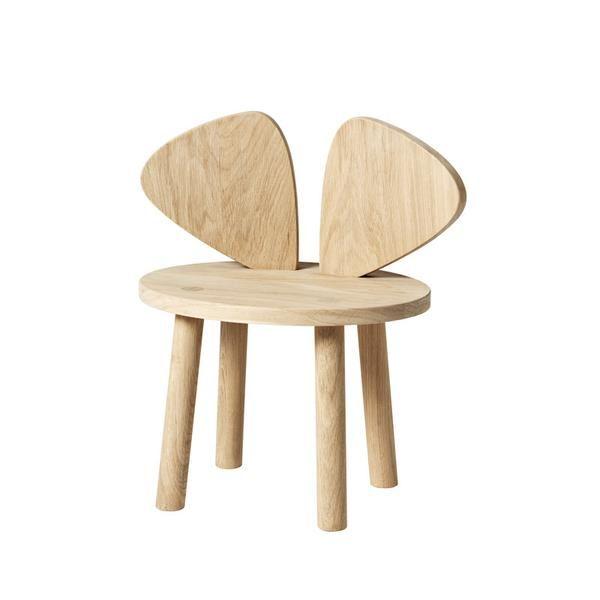 Nofred Mouse Chair børnestol, eg