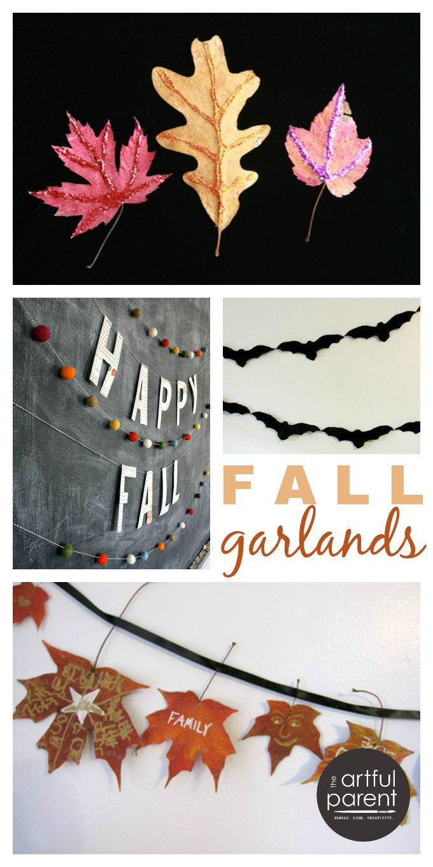 Beautiful DIY fall garlands!