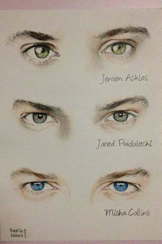 And jared is all what even is eyes they are so beautiful they rank