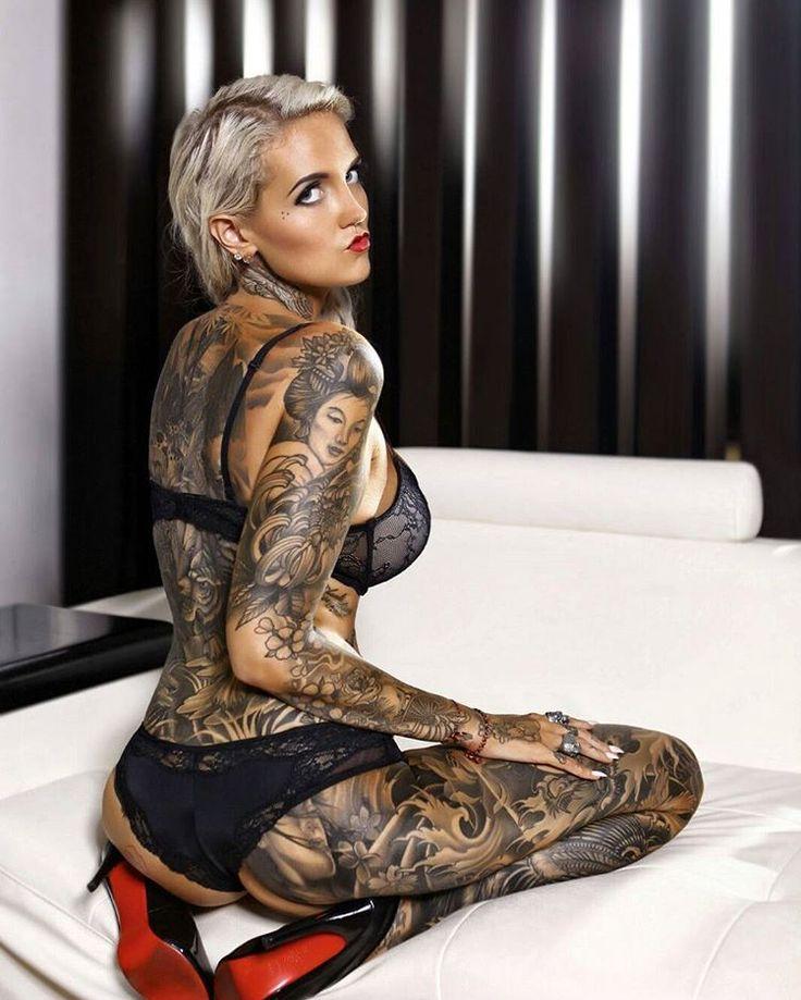 Beautiful Heavily Modified Women  Photo Tattoos