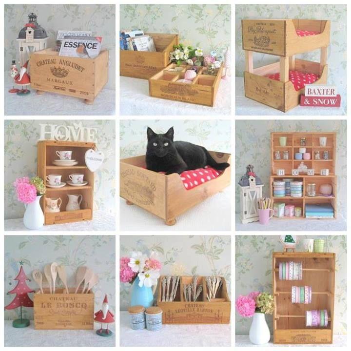 Más de ideas con cajas