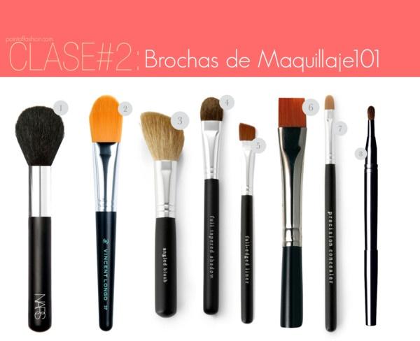 Clase#2: Brochas de Maquillaje 101!