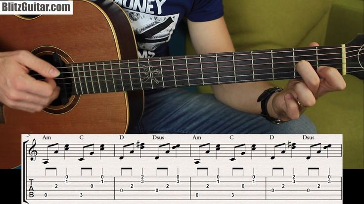 Plucking Chords Vs Plucking a Melody. Fingerstyle Golden