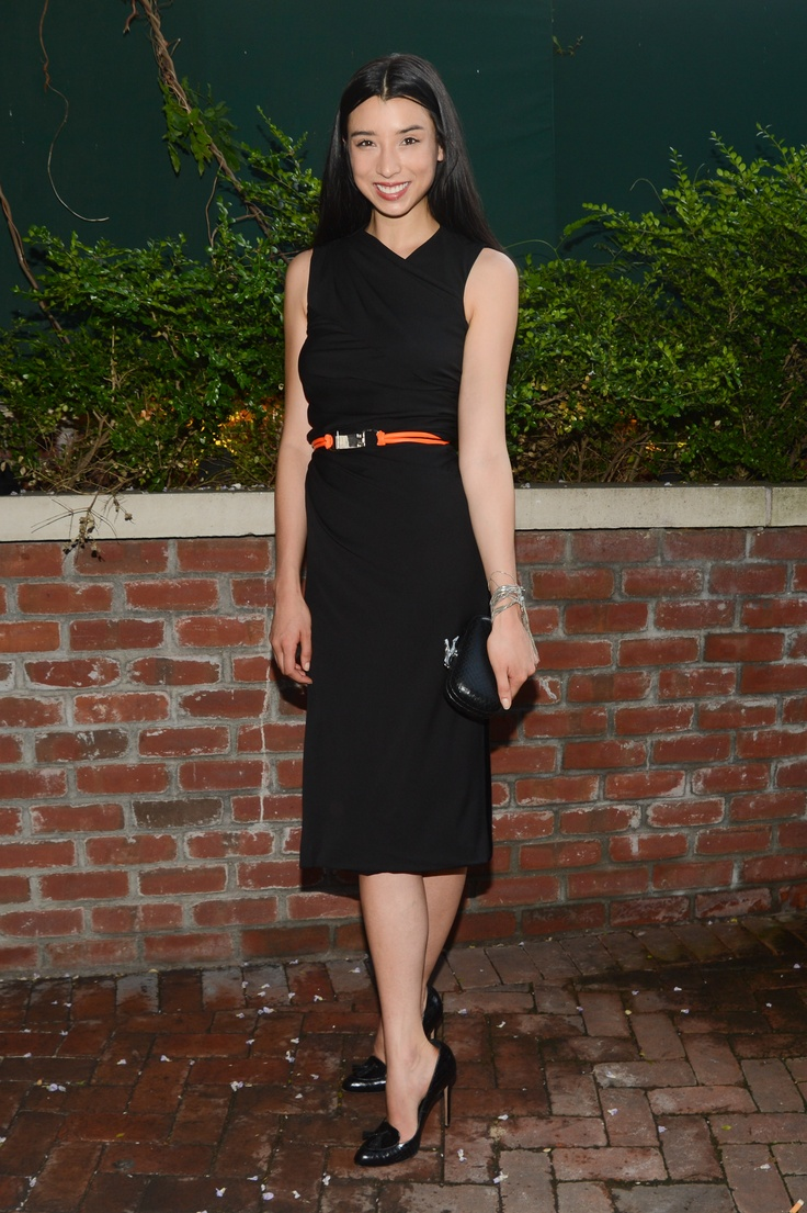 Lily Kwong in DVF at the Lincoln Center Institute Junior Spring Benefit