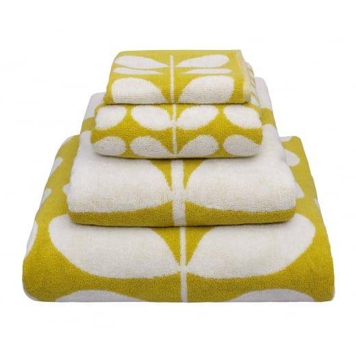Orla Kiely Linear Stem Mimosa Towels