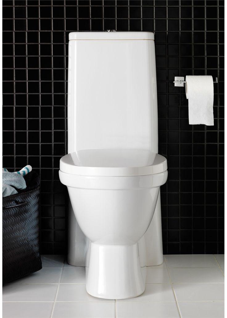 1273301 Hafa  Hafa Kioto Toalettsete og lokk Med myktlukkende henglser