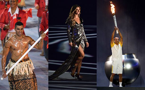 Rio Olympics Opening Ceremony Highlights: See Gisele Bündchen dance, the torch…#Rio2016