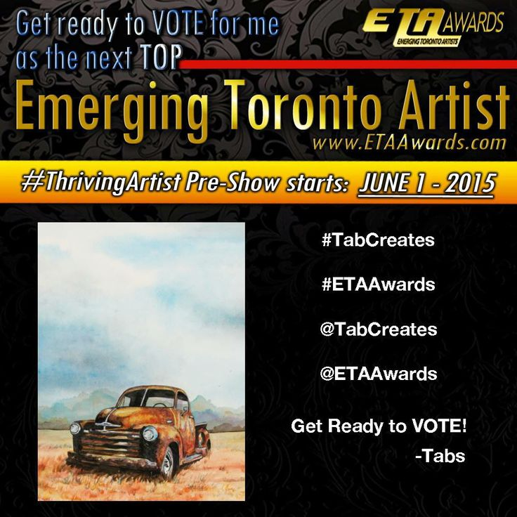 Help me win a booth on June 1st! #tabcreates #painting #thrivingartist