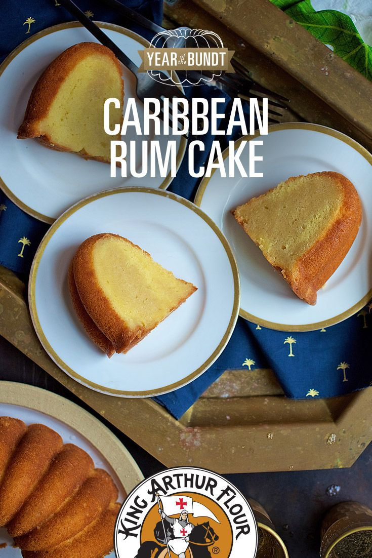 Caribbean Rum Cake - Recette recommandée par Micho😊
