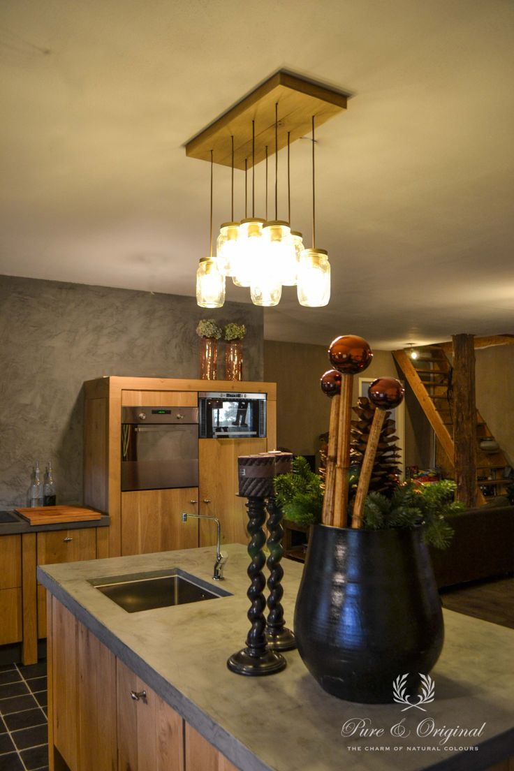Old farm with the kitchen with marrakech walls paint for Advies interieur