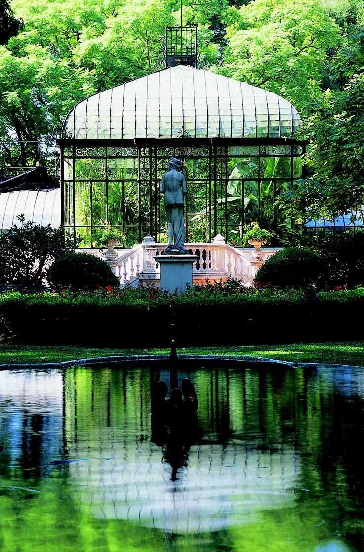 Jardín Botánico, ciudad de Buenos Aires.