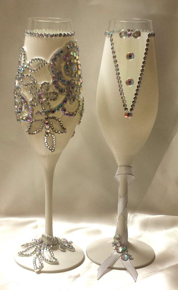 Verschiedene Farben Hochzeitsglaser Sektglaser Hochzeitsgeschenk