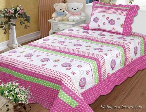 awesome Pembe Yatak Odası Modelleri 2014