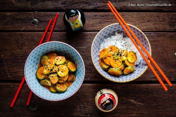 Das beste Rezept für schnelles Gurken-Kimchi, ein Abend beim Koreaner in Wedding und der großartige Fotograf Robert Bartholot #kimchilove