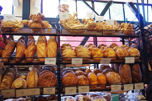 サンフランシスコ名物サワーブレッドで有名な老舗パン屋さん、「ボーディン・サワードゥ・ベーカリー」