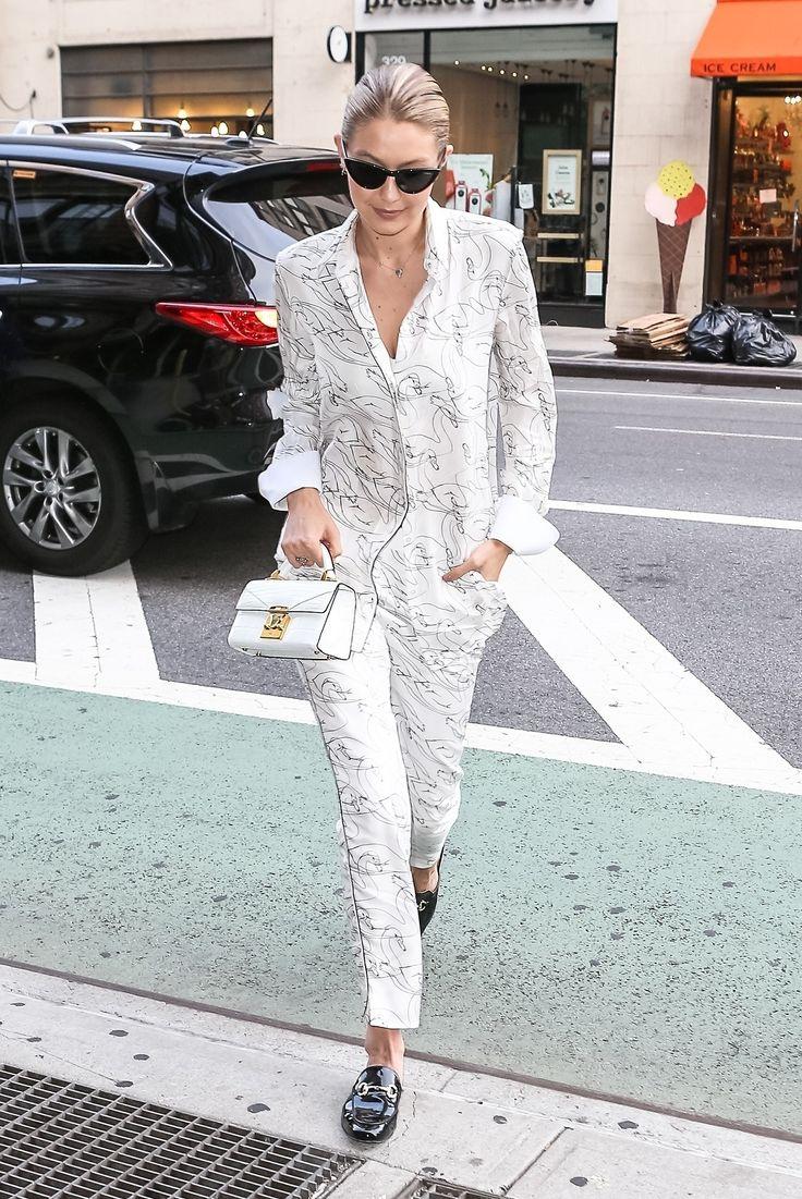 Gigi Hadid #streetstyle #2017 #NYC