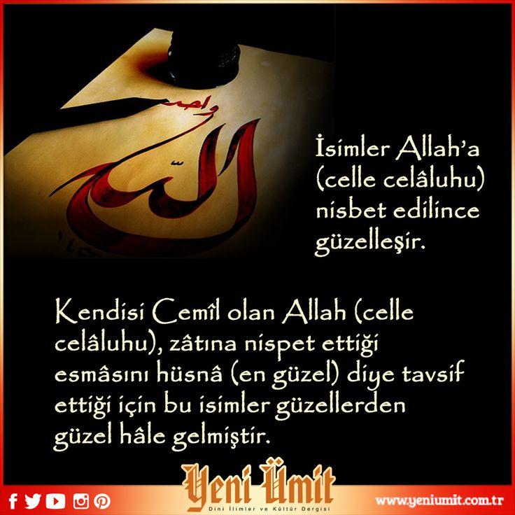 Osman ERTUĞRUL yorumu ile 'Fâsılalardaki Esmâü'l Hüsnâ İle Allah'a Övgü (Celle Celâluhu)' başlıklı yazımızı okumak için http://bit.ly/1HaC595