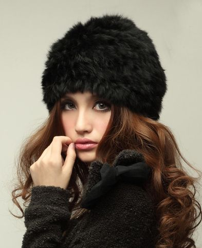 US $5.79 - Rabbit fur hat yarn Women autumn and winter fur hat encryption knitted hat - Aliexpress: Click to find more --> http://s.click.aliexpress.com/e/UByNbIA2J
