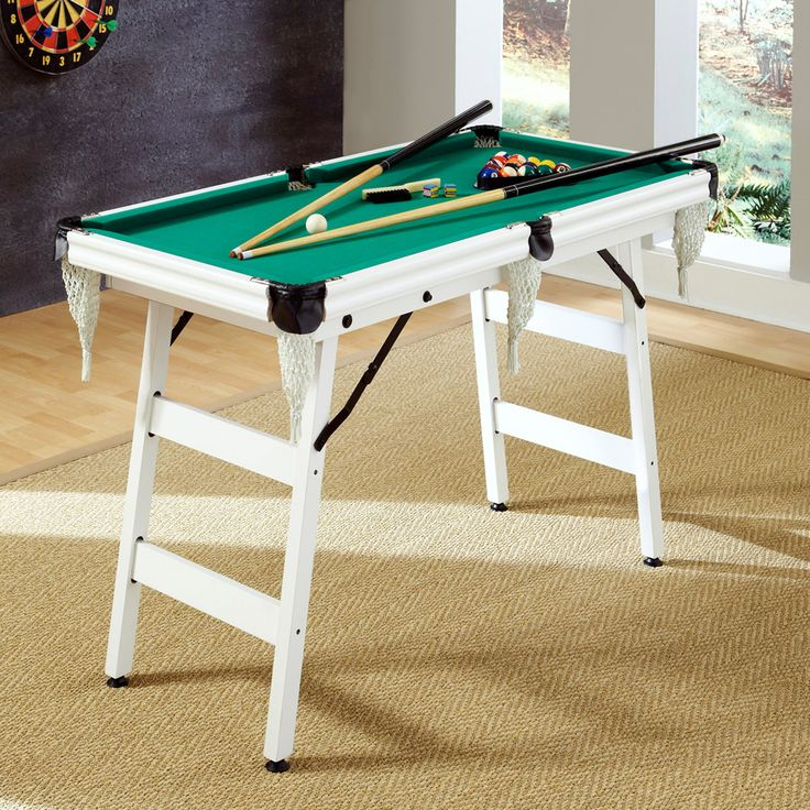 The Junior Pro 4-foot Pool Table | Overstock™ Shopping - Great Deals on Billiard & Pool Tables