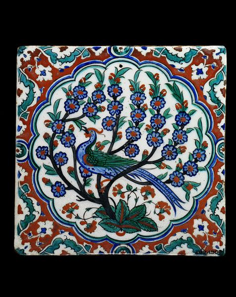 Turkey (Iznik), late 16th century