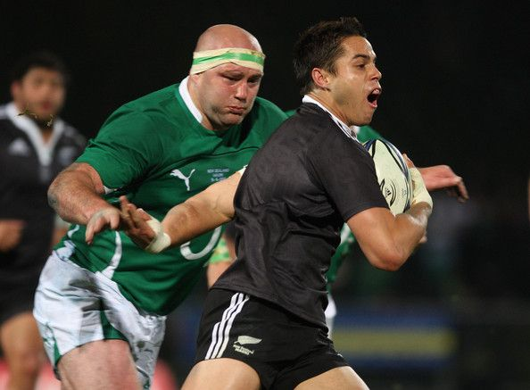 John Hayes Photos Photos - John Hayes of Ireland looks to make a tackle on Sean Maitland of New Zealand Maori during the international rugby match between the New Zealand Maori and Ireland at Rotorua International Stadium on June 18, 2010 in Rotorua, New Zealand. - New Zealand Maori v Ireland