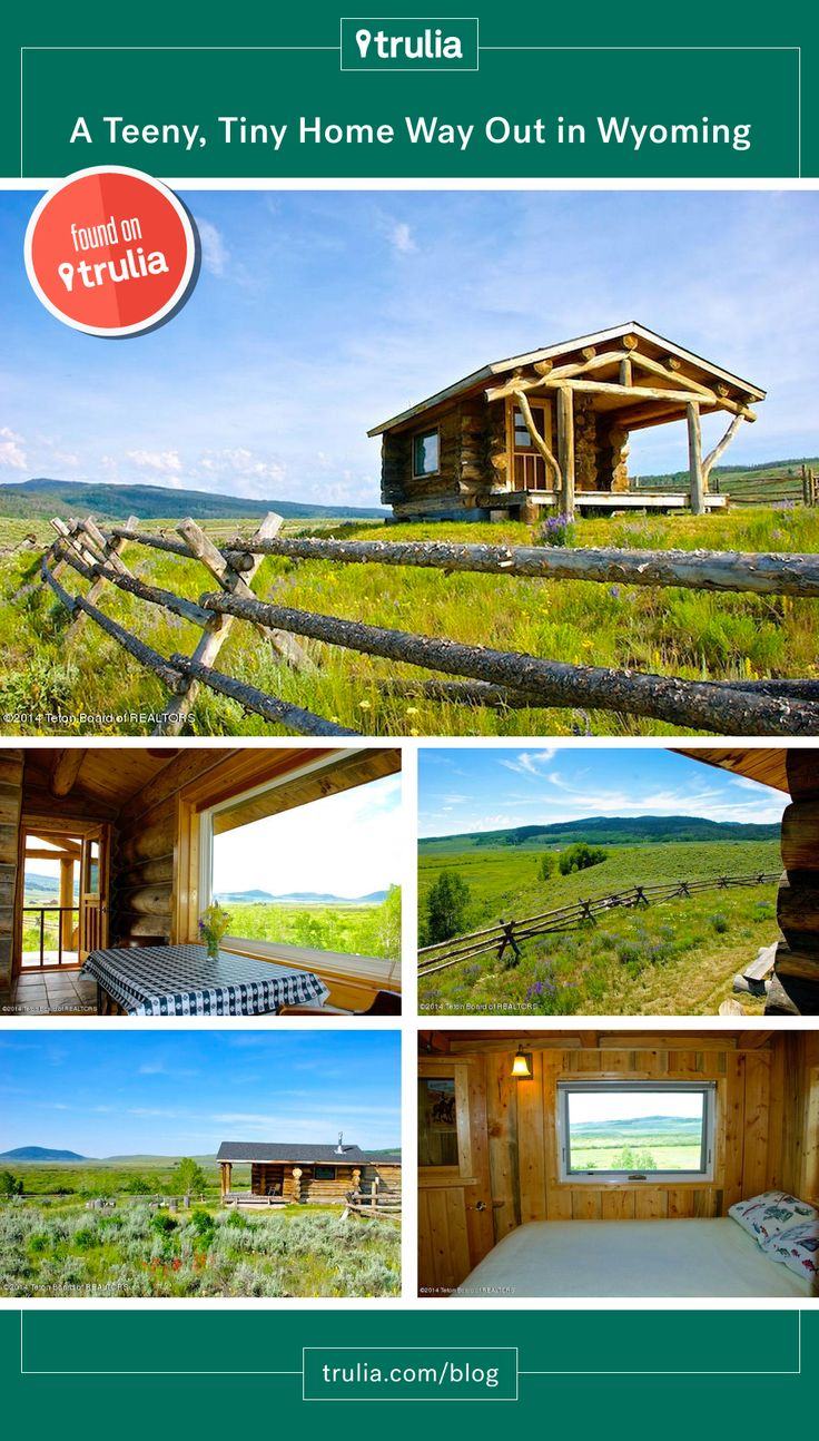 363 best amazing architecture images on pinterest amazing found on trulia a teeny tiny home for sale in wyoming