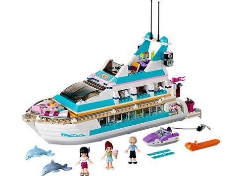 FRIENDS 41015 Delfinbåden