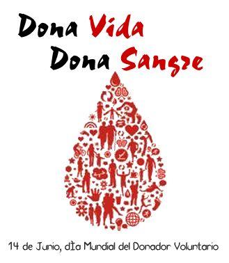 14 de junio Día mundial del #DonadordeSangre.