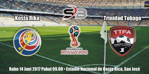 Prediksi Bola Kosta Rika vs Trinidad Tobago 14 Juni 2017