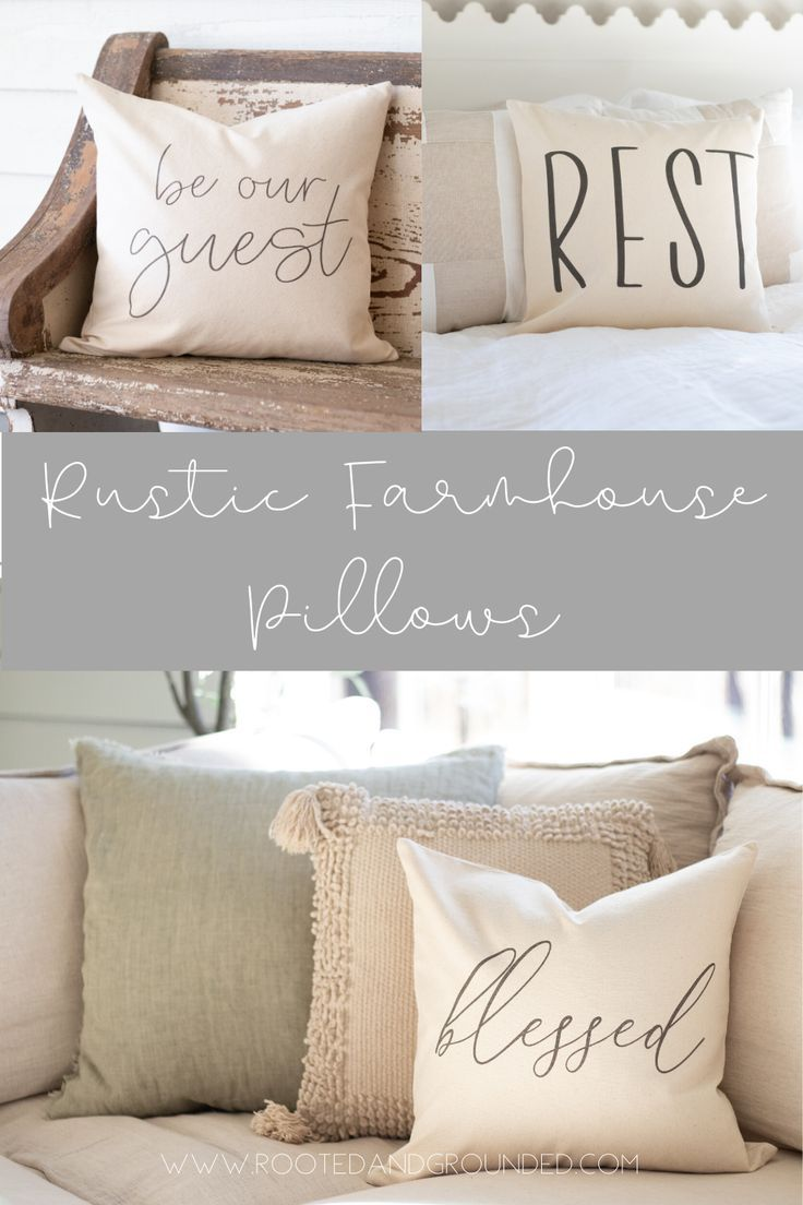 Sofa Pillows In 2020 Rustic Throw Pillows Couch Sofa Pillows Throw Pillows Bedroom