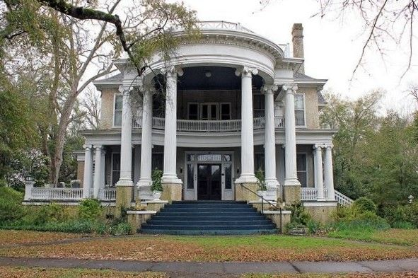 175.....Beautiful Abandoned Mansion In Barbour County, Alabama Usa