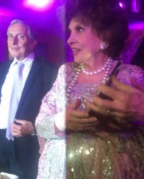 Gina Lollobrigida 90 anni: mega party di compleanno a Piazza di Spagna
