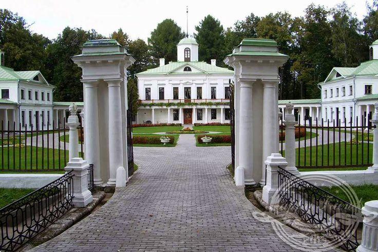 Усадьбы Дворцы Родовые поместья России : Усадьба Середниково (Московская область)