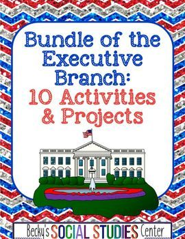 This Executive Branch Bundle for sixth, seventh, eighth, and ninth graders & homeschool students will help students understand the Executive Branch. It gives students the opportunity to complete engaging & student-centered activities and projects to learn about the 45th President of the United States - Donald Trump. Students work collaboratively in partnerships or small groups to create or complete projects.{5th, 6th, 7th, 8th, 9th grade, elections, civics, US or U.S. history, election}